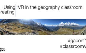 Creating VR in the geography classroom